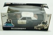 New The Blues Brothers Movie Bluesmobile Police Car Die Cast 1/18 New In Box