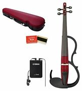 Yamaha Silent Violin Set Ysv104s Rd With Tracking