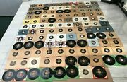 Seeco Records 118 Pieces 7/45 Rpm Lot Near Mint Condition Made In Usa And Mex