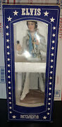 Mccormick Brings You Portrait Of Elvis Bourbon Whiskey Sealed Bottle 15andrdquo Tall