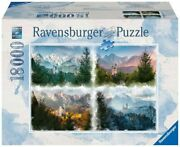 Ravensburger Puzzle 18000 Pieces Fairytale Castle In 4 Seasons From 14 Years