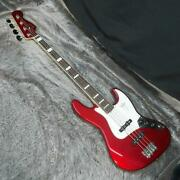 Fender Traditional Late 60s Jazz Bass Rw Candy Apple Red Electric Bass Guitar