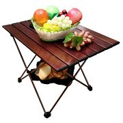 Aluminum Alloy Folding Camping Table Outdoor Dinner Desk Family Party Picnic Bbq