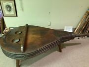 Antique 3 Legged Hand Made Real Working Massive Bellows Coffee Table 74x 34