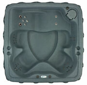 Ships Next Week 🌞 5-person Hot Tub - 29 Jets - Plug And Play Model - Ozone - Grey