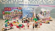Lego Friends 41058 Heartlake Shopping Mall With Manuals Retired