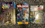 Justice Leagues Aquaman, X-men's Mojo, Total Chaos' Gore 3 Sealed Collectibles