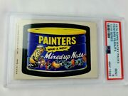 1974 Topps Wacky Packages Painters Peanuts 10th Series Psa 9 Mint Non-sport Card