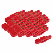 40pcs Snap Weight Release Clip Outriggers Release Clips Offshore Fishing