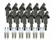 Bosch 12 Ignition Coils And 12 Double Platinum Spark Plugs Kit For F02 760li V12