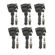 Bosch 6 Ignition Coils And 6 Platinum Spark Plugs Kit For Bmw L6
