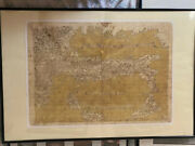 Antique Early Map Of Italy - Nicely Framed Italian History