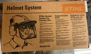 Stihl Chainsaw Safety Helmet With Hearing Protection 0000-886-0100