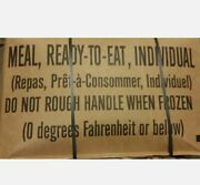 Mre Case A Inspection Date 2022/2023 Military Usgi Meals Ready To Eat