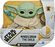 Star Wars The Mandalorian The Child Baby Yoda Talking Plush Toy With Sounds