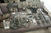 Lot Of Us Army Miscellanous Military Clothing Accessories Great Items