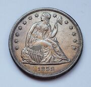 1859-o U.s. Seated Liberty Silver Dollar Extra Fine Plus Condition