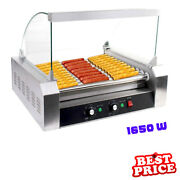 Commercial Hot Dog Roller Fast Food Grill Roast Cooker Cantine Electric Machine