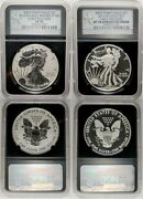 2013-w Silver Eagle West Point 2 Coin Set Ngc Reverse Pf70 Enhanced Sp70 Early