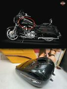 🔥harley 08-20 Touring 2012 Cvo Street Glide 6gal Fuel Gas Tank And Emblems Oem🔥