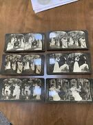 1903 H. C. White Co. Stereograph Wedding Pictures 6 Vintage Cards.
