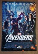 The Avengers Final 27x40 1-sheet Ds Movie Poster Double Sided Marvel Iron Man