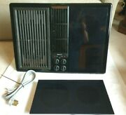 Jenn-air Jed8230 Black Electric Cooktop W Downdraft Radiant Burner Grill Tested