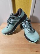 Saucony Womenand039s Peregrine Iso Trail Running Shoe Everun Size 8.5 Us Teal Black