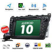 Cam+ 8 Android 10 Touch Screen Car Radio Bluetooth Gps Dvd Gps For Mazda 6 2010