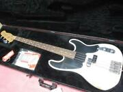 Electric Bass Fender Mexico Precision Mike Dirnt White