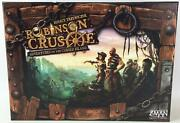 Z-man Boardgame Robinson Crusoe Collection, Base Game W/voyage Of The Beag Nm