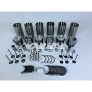 New 6m1012 Cylinder Liner Kit With Bearing Set And Valve Guide For Deutz Engine Pa