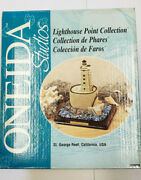 Oneida Studios Lighthouse Point Collection St. George Reef California Usa