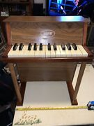 Vintage Jaymar Upright Miniature Piano-25 Key-children Musical Toy-great Cond
