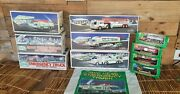 Hess Truck Lot Of 10 1996-2000s Trucks Racers Suv Helicopter Campers Motorcycles