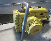 Vintage Collectible Mcculloch 250 Chainsaw With 18 Bar