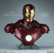 Sideshow Collectibles Iron Man Mark Iii 3 Bust Life-size Statue Marvel