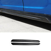 Dry Carbon Fiber Exterior Door Panel Side Skirts For Mini Cooper Countryman F60
