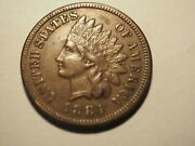 1884 Full Liberty Indian Head Cent Penny Free Shipping K96