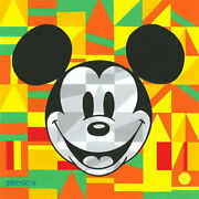 Disney Paintings Mickey Mouse/steamship Willie Unlock Limited To 195 Copies
