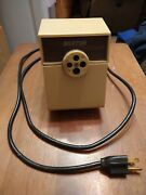 Vintage Boston Heavy Duty Electric Pencil Sharpener 4 Sizes And Large Shavings,17
