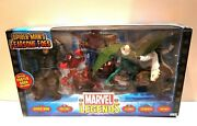 Toy Biz Marvel Legends Spider-man's Fearsome Foes W/special Poster Book Included