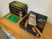 Boxed Mb Microvision Vintage 1979 Computer Game System + 6 Cartand039s - Excellent