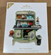 2012 Hallmark Keepsake Ornament Mrs Clausand039s Stove 2 Artists Signed Collectible