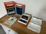 Awesome Boxed Tomy Rambler Vintage 1982 Tabletop Electronic Game - Near Mint.