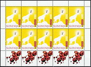 Slovenia S/s Europa Tales And Legends 1997 Mnh-40 Euro