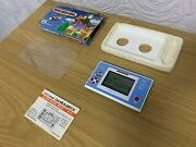Boxed Nintendo Game And Watch Super Mario Bros Vintage 1988 Lcd Game - Excellent