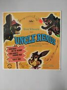 Walt Disneyand039s Tales Of Uncle Remus Song Of The South 78 Rpm Record Sealed