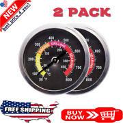 Bbq Thermometer Temperature Gauge Pit Grill For Meat Cooking Port Lamb Beef 2pc