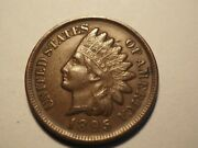 1895 Full Liberty Indian Head Cent Penny Free Shipping K196
